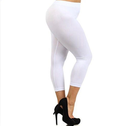 "LEG/CP-""Sofra"" White (90%Poly/10% Span) Leggings"