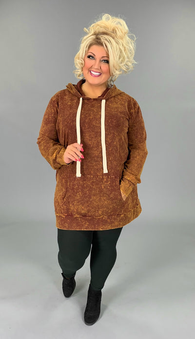 HD-M {Bonfire Nights} Desert Mustard Mineral Wash Hoodie SALE!