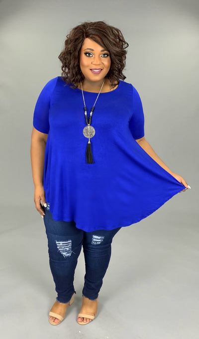 SSS-C (A Must Have) Royal Tunic With Rounded Hem EXTENDED PLUS 3X 4X 5X