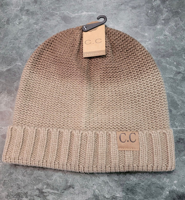 HAT-OMBRE' Style C.C. Beanie