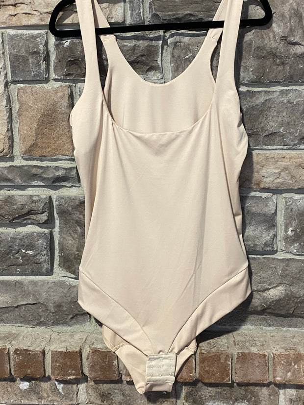 CURVY BRAND Nude Body Shaper (Wear With Your Own Bra)  EXTENDED PLUS 3X 4X 5X 6X
