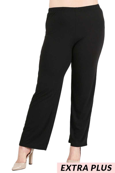BT-M {Seeking Comfort} Black Butter Soft Lounge Pants EXTENDED PLUS SIZE 4X/5X 5X/6X