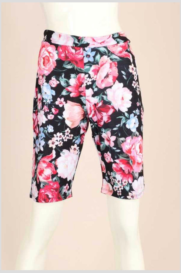 SET-H {Kick Your Feet Up} Multi-floral Design Loungewear PLUS SIZE 1X 2X 3X SALE!!