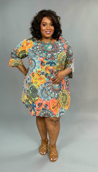 PQ-B {Over The Rainbow} Floral Babydoll Dress