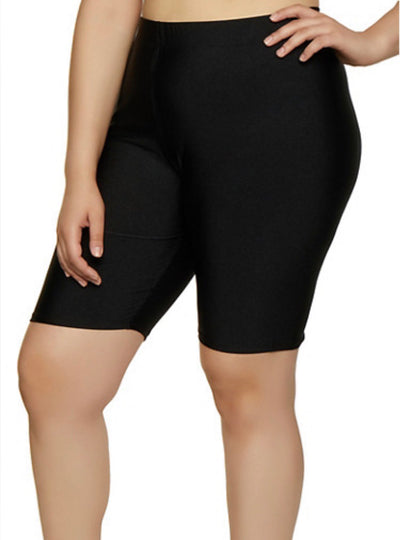 Leg-X {Better Now} Black Soft & Stretchy Biker Shorts