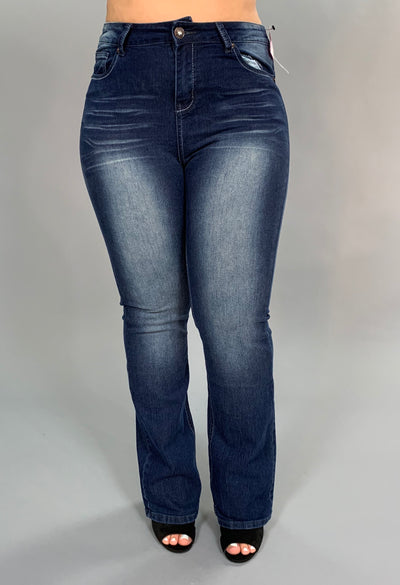 BT-R {RHYTHM & BLUES} Jeans with Back Pocket Detail