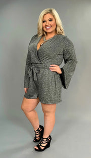 RP-Z {All That Glitters} Silver/Black Angel Sleeve PLUS SIZE 1X 2X 3X SALE!!
