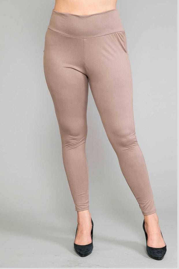 LEG-16  {Demand Attention} Camel Active Leggings PLUS SIZE 1X 2X 3X