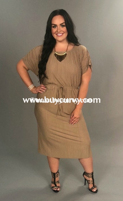 Ld Sharp Lady Mocha Ruched W/ Tie Sale!! Long Dress