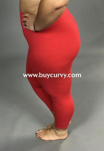 LEG-06 {Soft Haven} Red Butter Soft Full Length  leggings
