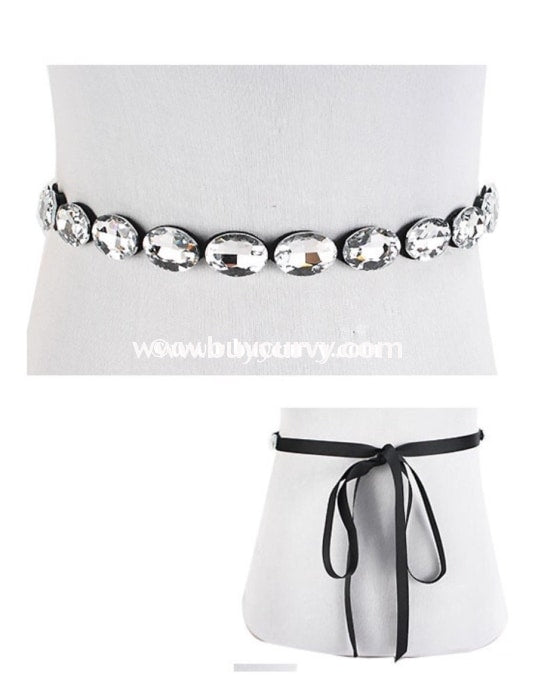 Nc-C Sophia Rhinestone Wedding Belt Or Choker Necklace