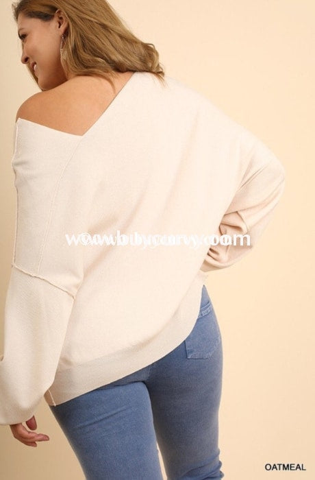 Off-Umgee Alabaster Stretchy Off-Shoulder Sale!! Off Shoulder