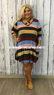 Pls-G Striped With Criss-Cross Detail Sale! Pls