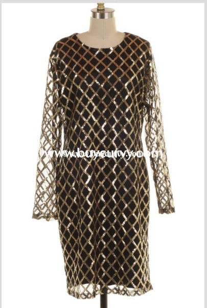 Pls-Z {Million Dollar Baby} Gold Sequined With Lining Runs Small!!! Sale!! Pls
