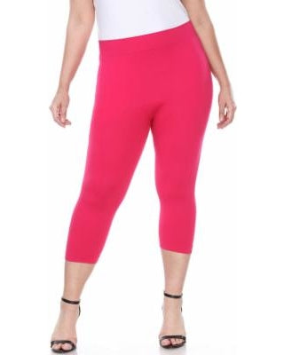 BT/J -Stand My Ground Hot Pink Capri Leggings