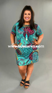 Pss-O We Found Love Teal Mandala Gathered Knot Sale!! Pss