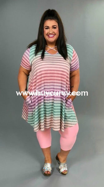 Pss-P {Lets Chat} Lavender Rainbow Striped {Sale!!} Pss
