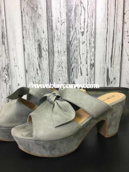 Shoes-Nature Breeze Suede With Bow Sale Shoes