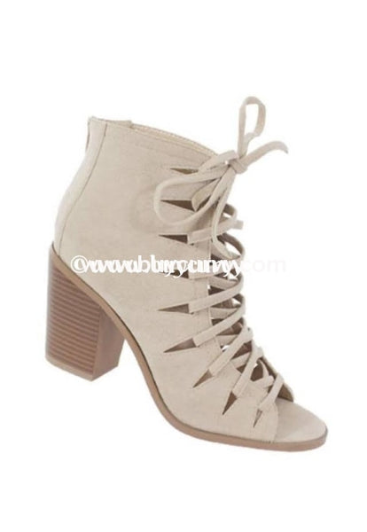 Shoes-Yoki Beige Lace-Up Sale Shoes
