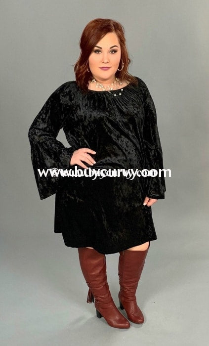 Sls-K {Unchained Melody} Black Crushed Velvet Sale!! Sls