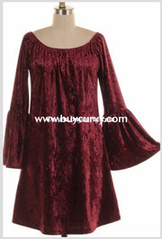 Sls-Y {Unchained Melody} Wine Crushed Velvet Sale!! Sls