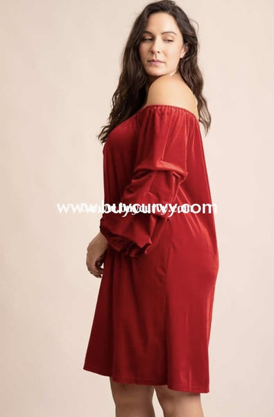 Sq-L {Radiant Beauty} Red Velvet With Tufted Sleeves Sale!! Sq