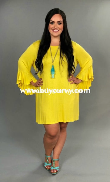 Sq- N {Amazing} Yellow With Cascading Sleeves & Pockets {Extended Plus} Sq