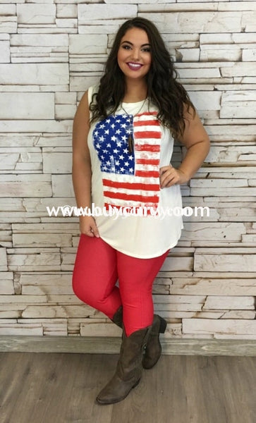 Sv-R American Flag Sleeveless {Sale!!}
