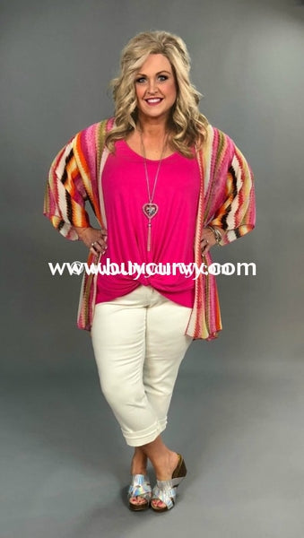 Sv-U {Say Youll Stay} Pink Sleeveless With Twisted Hem Sale!!
