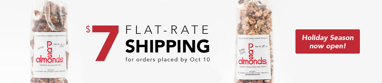 $5 Flat-rate Shipping for orders $14 or more