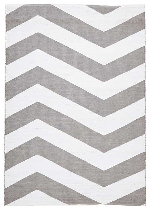 Coastal grey Rug Chevron
