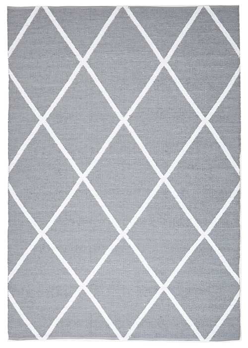 Coastal Grey Diamond Pattern