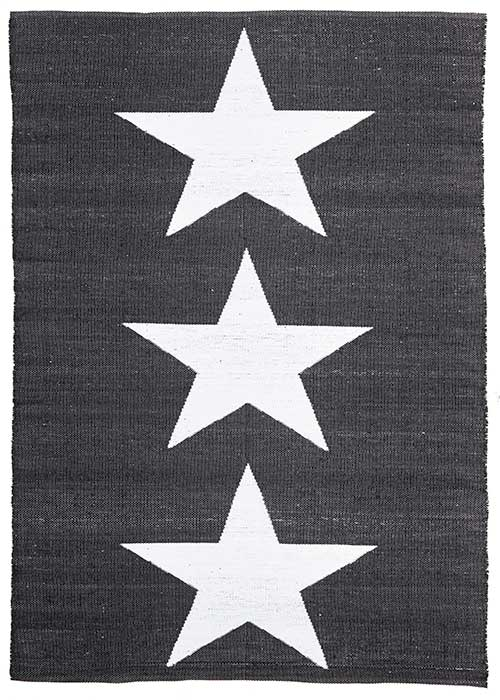 Coastal Black Star Pattern