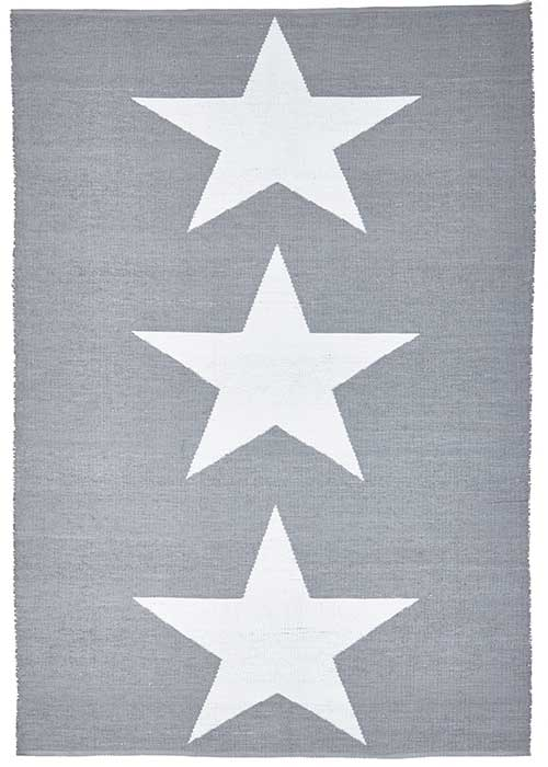 Coastal Grey Star Pattern