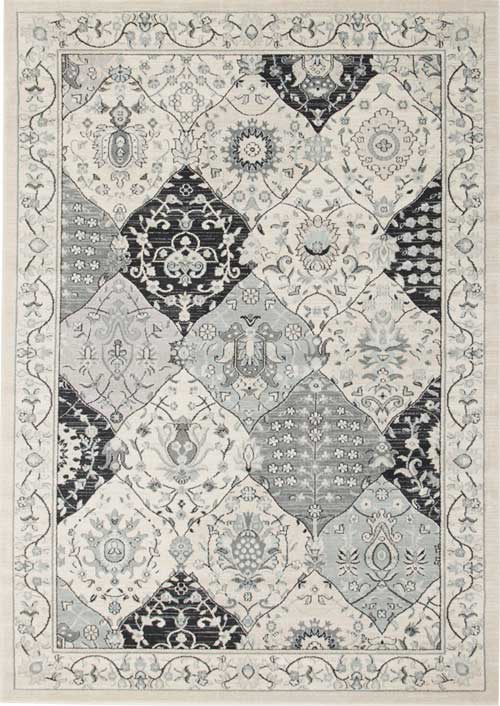 Jewel Traditional Blue Rug