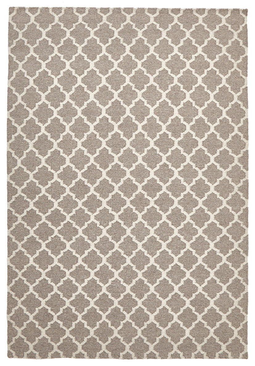 scandinavian natural rug pattern