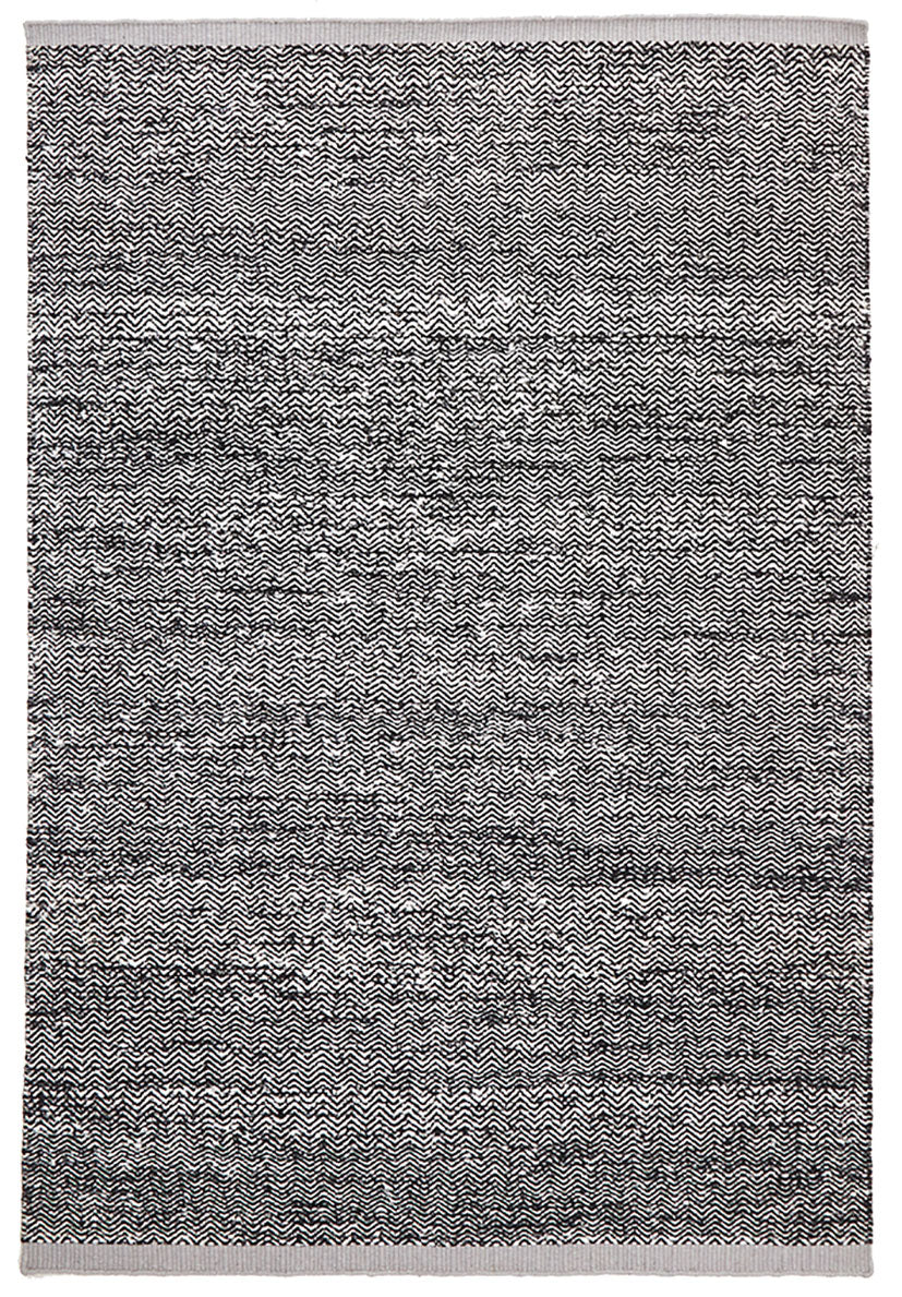 scandinavian black and grey rug