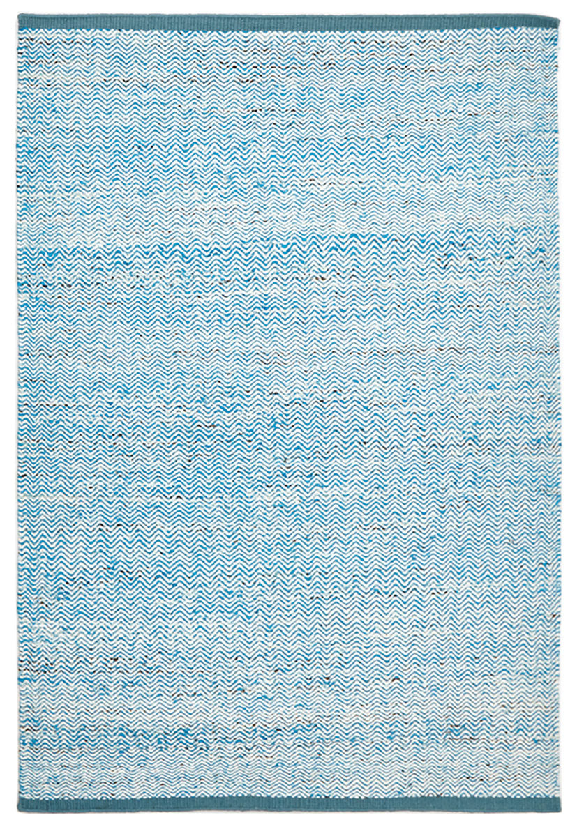 scandinavian blue and white rug