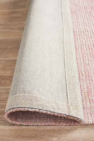 Allure Rose Cotton Rayon Rug