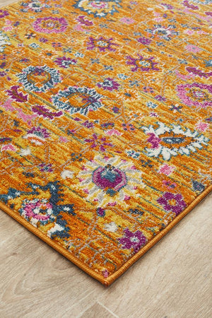 Babylon 210 Rust Runner Rug