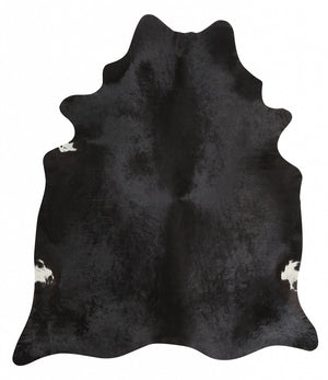 Cow Hide Black