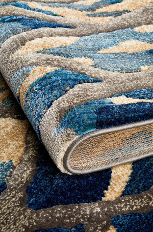 Dream Scape 856 Blue Rug