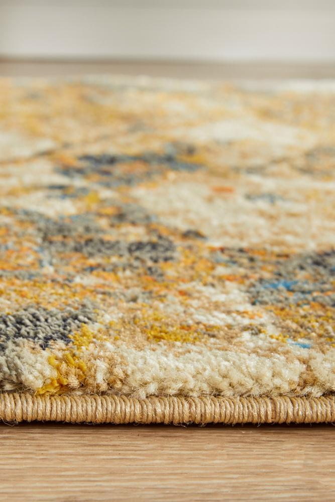 Dream Scape 860 Rust Runner Rug