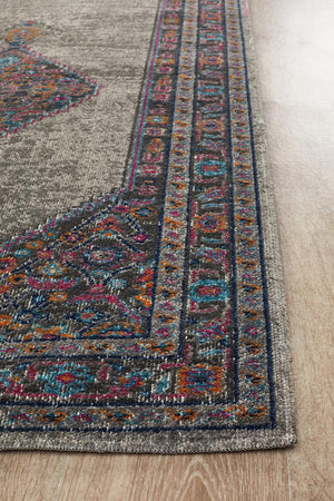Eternal 910 Grey Runner Rug