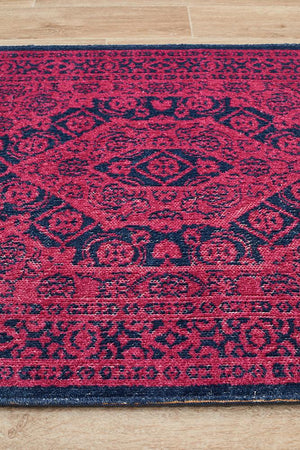 Eternal 912 Magenta Runner Rug