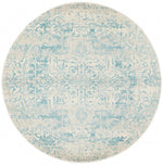 Evoke 253 White Blue Round