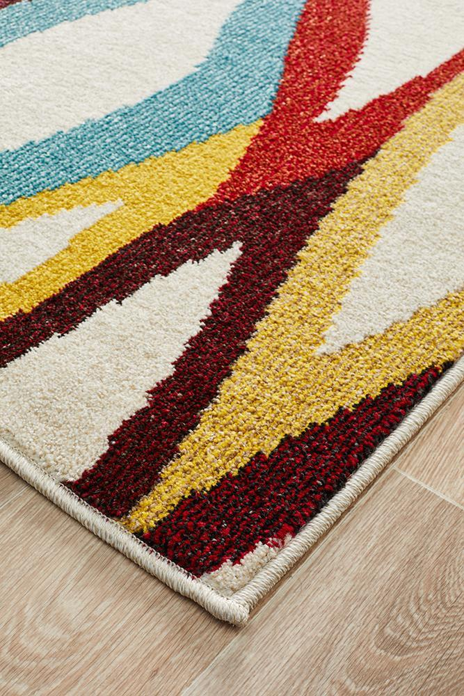 Gemini Modern 501 Multi Coloured Rug
