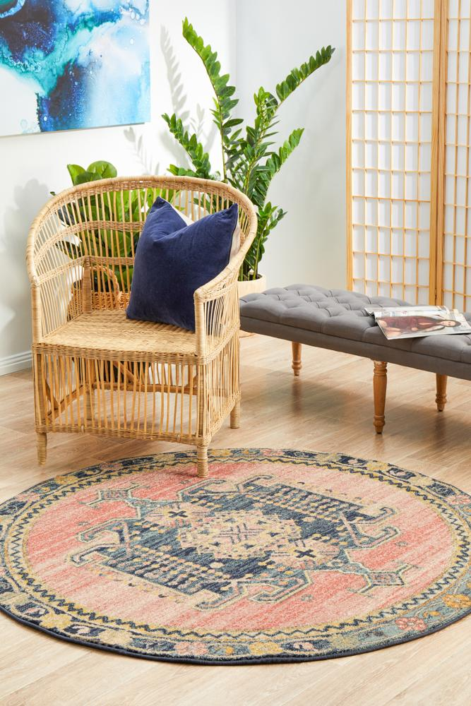 Legacy 852 Earth Round Rug