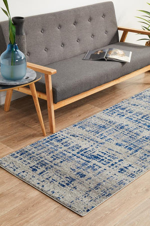 Mirage 352 Navy Runner Rug