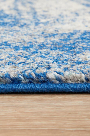 Mirage 355 Blue Runner Rug